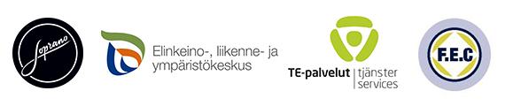 F.EC-koulutukset yhteistyössä ELY-keskuksen ja TE-toimiston kanssa.