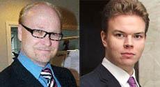 Markku Kauneela ja Lauri Sulanto_Fintrade Mercer, Hongkong | MIFin Kiinakoulutusten asiantuntijoita