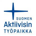 Suomen-aktiivisin-työpaikka-logo