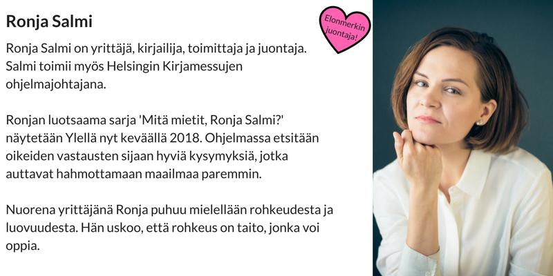 Inforin-Elonmerkki-tapahtuman-juontaja-Ronja-Salmi